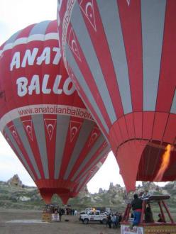 Los geht's - Ballonfahrt Kappadokien