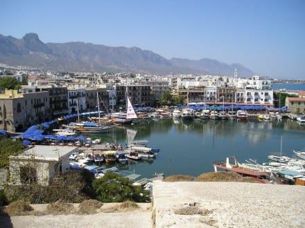 Hafen von Grine. - Hafen Kyrenia/Girne