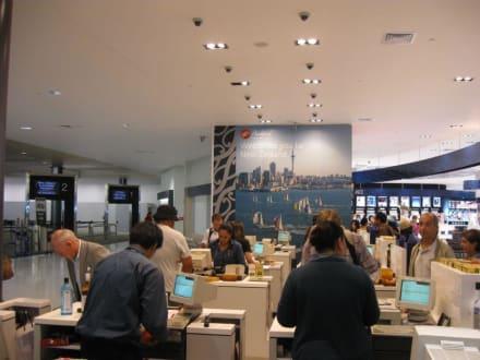 Willkommen in Neuseeland - Flughafen Auckland (AKL)