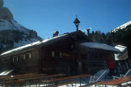 Die Ciadinat-Hütte - Ciadinat-Hütte