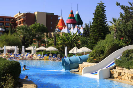 Children pool water slides -