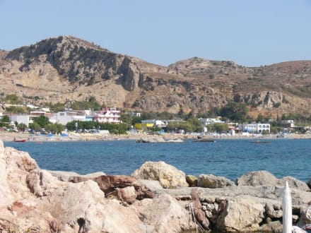 Blick auf die Stegna-Bucht - Bucht von Stegna