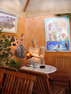 Ambiente mit viel Flair im Cafe Meteor - Cafe Meteor