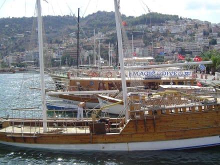 Alanya Hafen - Bootstour Alanya