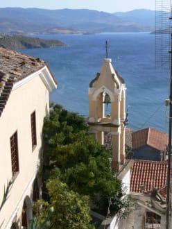 Kirche vor der Burg - Burg von Molivos