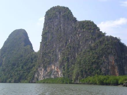 Phang Nga Naturschutzgebiet - Phang Nga Bucht/Nationalpark Ao Phang Nga