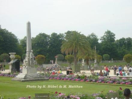 Erholung mitten in der Stadt! - Palais und Jardin du Luxembourg