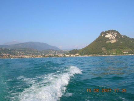 Motorboot fahren am Gardasee - Bootsverleih Bardolino