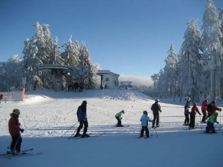 Gipfel Zweiselberg - Hochficht Skigebiet