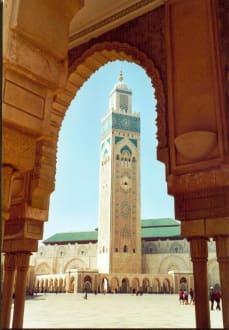 Moschee Hassan II - Hassan-II.-Moschee