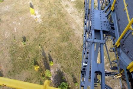 Blick in die Tiefe - Besucherbergwerk F60 Lichterfeld