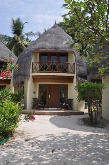 Jacuzzi beach villa hotel bandos island resort