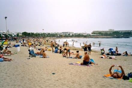 Playa de las Cucharas - Hauptstrand der Costa Teguise - Strände Costa Teguise