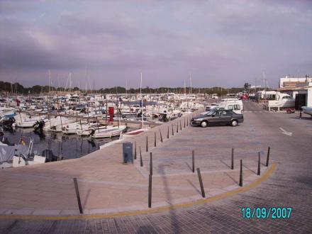 Teil des Hafens von Colonia Sant Jordi - Yachthafen Colonia Sant Jordi
