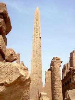 Karnak-Tempel_Obelisk der Hatschepsut - Amonstempel Karnak