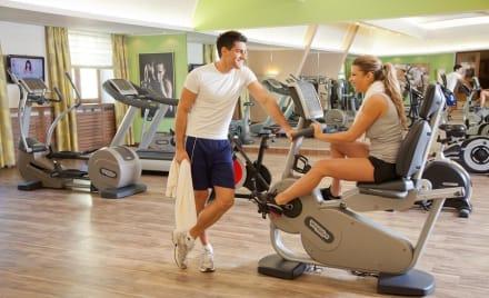 Fitnessraum  - Wellnesshotel Jagdhof