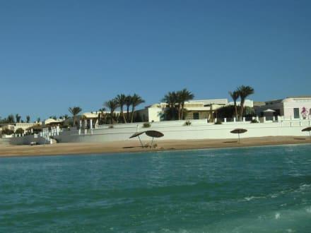 Vom Boot gesehen - Ausflug nach El Gouna