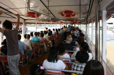 "Expressboot ""orange Linie"" - Chao Phraya River"