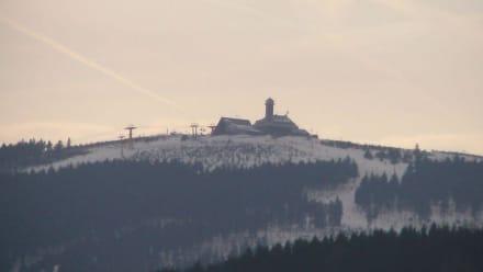 Fichtelberg im Winter - Fichtelberg