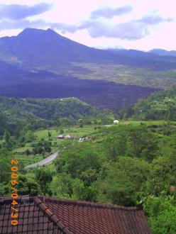 Vulkan, superschön! - Kintamani Aussichts-Punkt