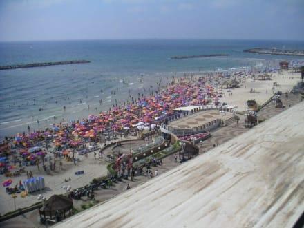 Mittelmeer-Tel Aviv - Strand Tel Aviv