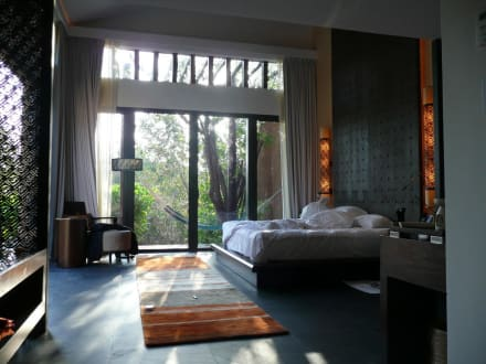 villa von innen bild hotel banyan tree mayakoba in playa. Black Bedroom Furniture Sets. Home Design Ideas