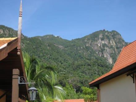 Blick zur Cable Car - Oriental Village