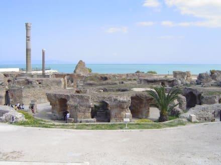 Römische  Thermen von Khartago - Ausgrabungen Karthago