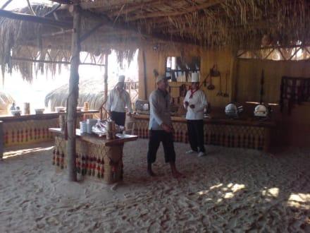 Buffet auf der Insel - Giftun / Mahmya Inseln