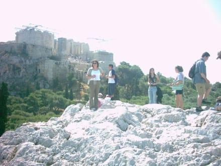 Auf dem Areopag - Akropolis