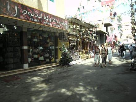 Weihnachstbaum in der Straße - Zentrum Hurghada