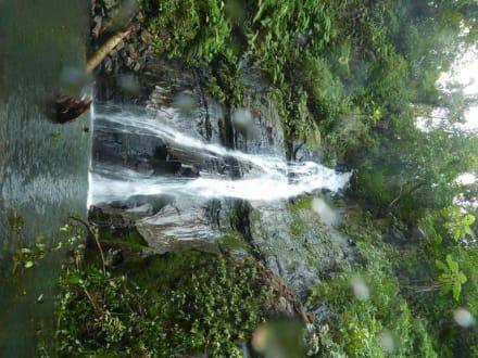 Wasserfall - Kokos-Insel