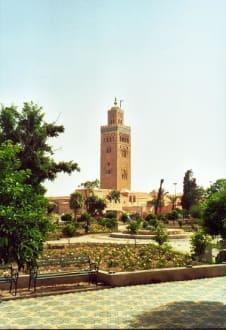 Koutubia in Marrakech - Koutoubia Moschee