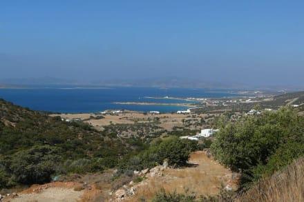 Blick auf die Küstenlinie - Farangas Strand