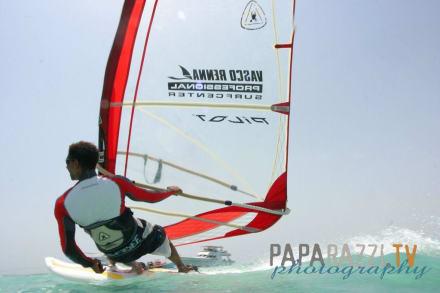Ob Hawaii oder Tubya Island - Windsurfschule Vasco Renna