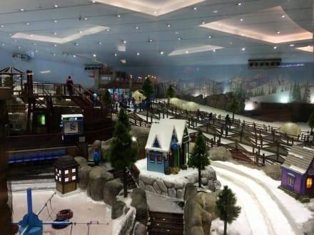 Sonstiges Freizeitbild - Ski-Dubai Halle (Mall of the Emirates)