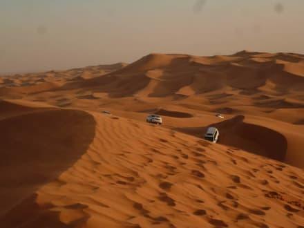Endlose Weite - Wüstentour Dubai