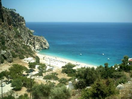 Strand von Kyra Panaghia  - Strand Kira Panaghia