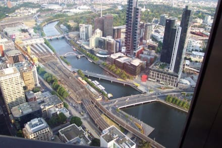 Ausblick vom Observation Deck - Melbourne Observation Deck