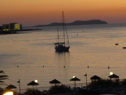 Abendimpressionen - Hotel Osiris