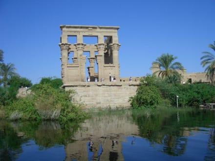 Insel Philae - Philae Tempel