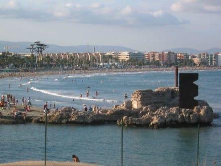 Strand La Pineda- Salou - Strand Salou