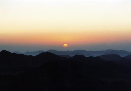 Auf dem Mosesberg - Mosesberg (Gebel Musa) / Berg Sinai