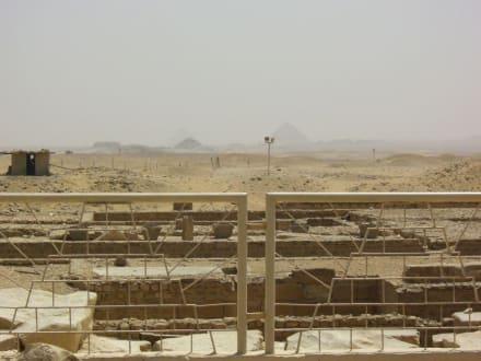 Weitblick - Stufenpyramide / Pyramide von Djoser