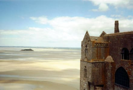 Le Mont Saint Michel bei Ebbe - Mont Saint Michel