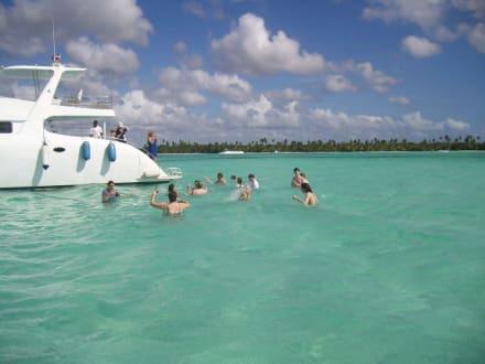 piscina natural - Isla Saona