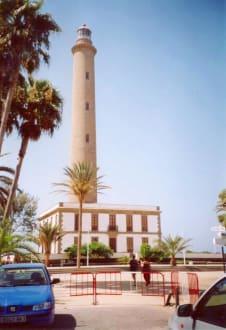 Gran Canaria Maspalomas Leuchtturm von vorne - Leuchtturm