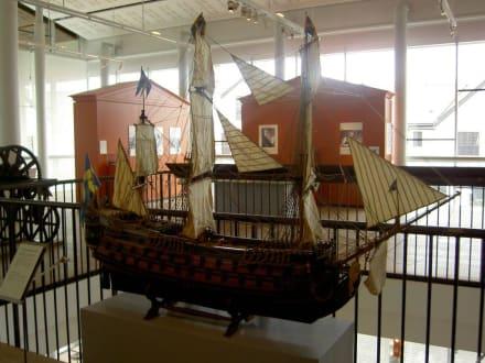 Modell eines Segelschiffes - Marinemuseum