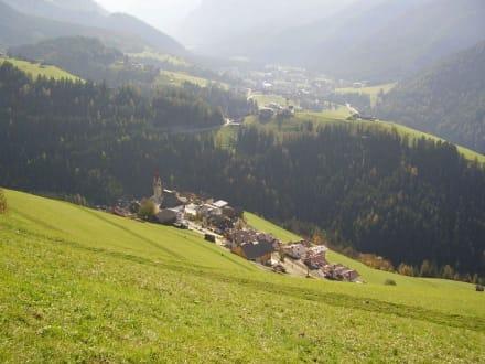Ausblick - Wandern St. Vigil in Enneberg