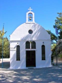 Kleine Kapelle auf dem Weg nach Filerimos - Kloster Filerimos